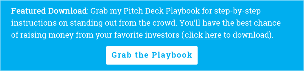 Grab my Pitch Deck Playbook Mike Lingle